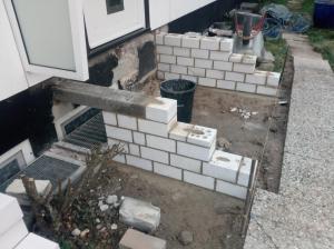 Treppen mit Podest Reparatur (13)